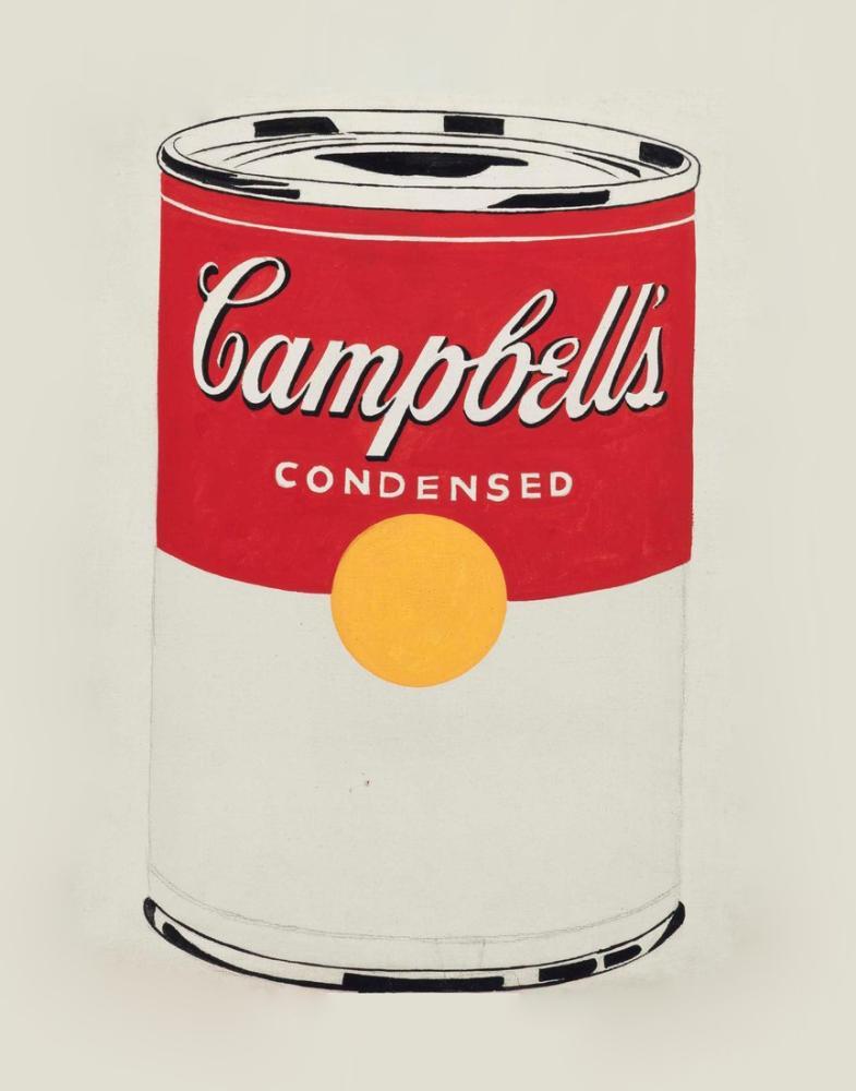 Andy Warhol Campbell Soup, Canvas, Andy Warhol, kanvas tablo, canvas print sales