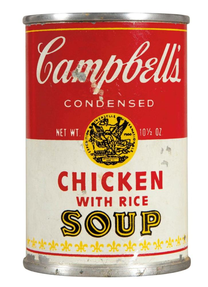 Andy Warhol Chicken Soup Can, Canvas, Andy Warhol