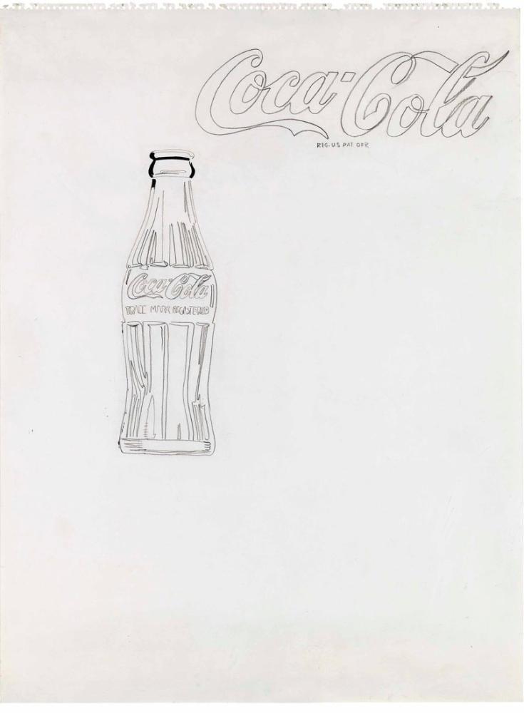 Andy Warhol Coca Cola, Canvas, Andy Warhol