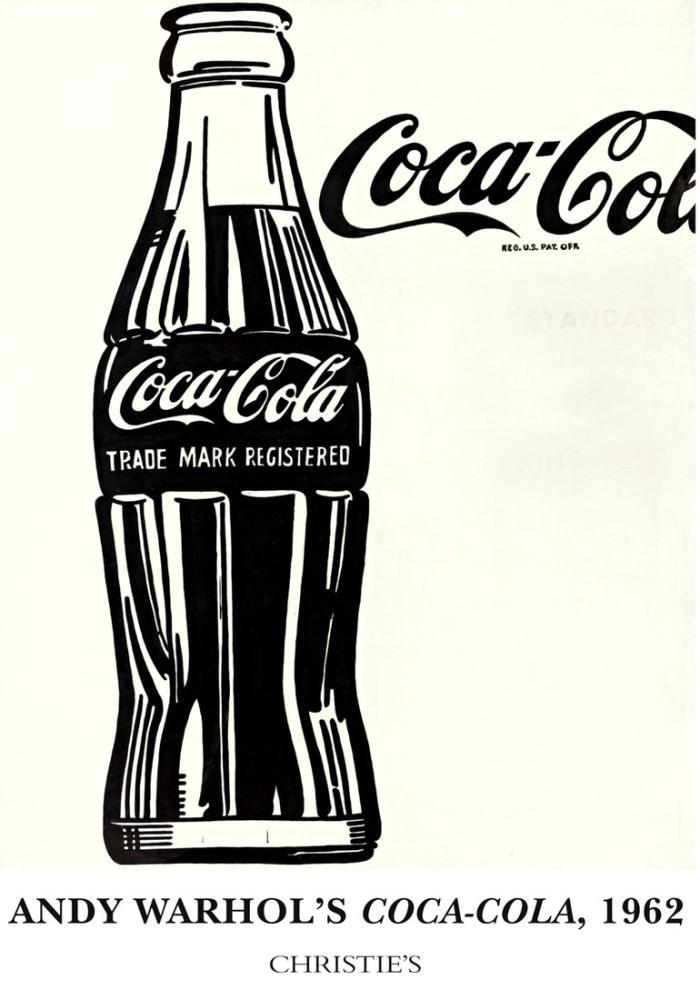 Andy Warhol Kola Şişesi 2, Figür, Andy Warhol