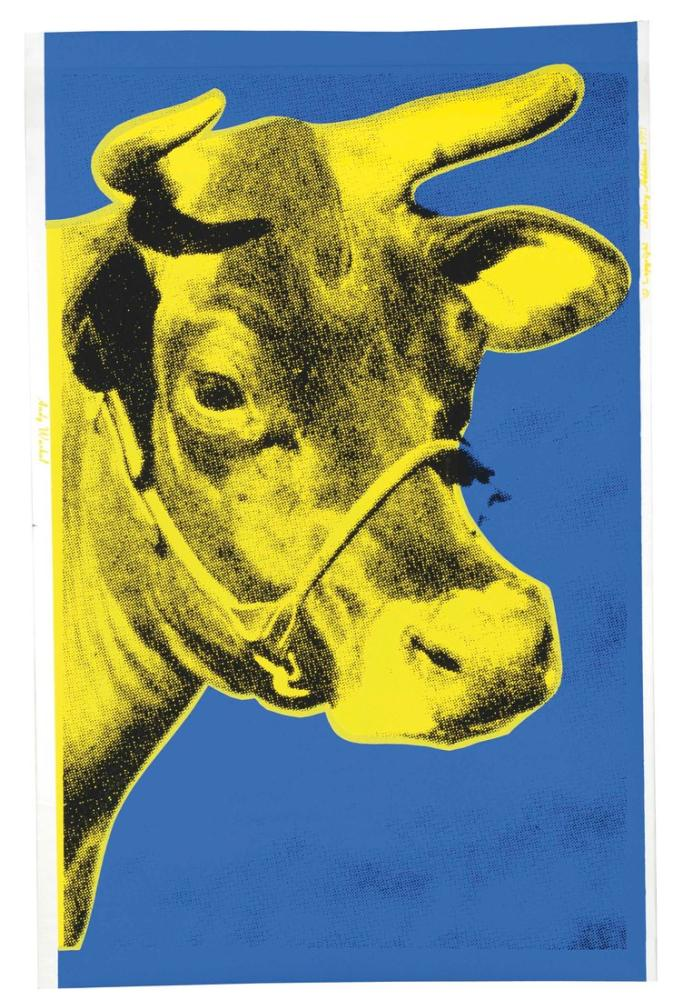 Andy Warhol Cow, Canvas, Andy Warhol, kanvas tablo, canvas print sales