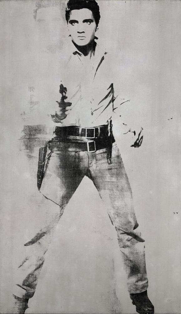 Andy Warhol Double Elvis Ferus Type, Canvas, Andy Warhol, kanvas tablo, canvas print sales