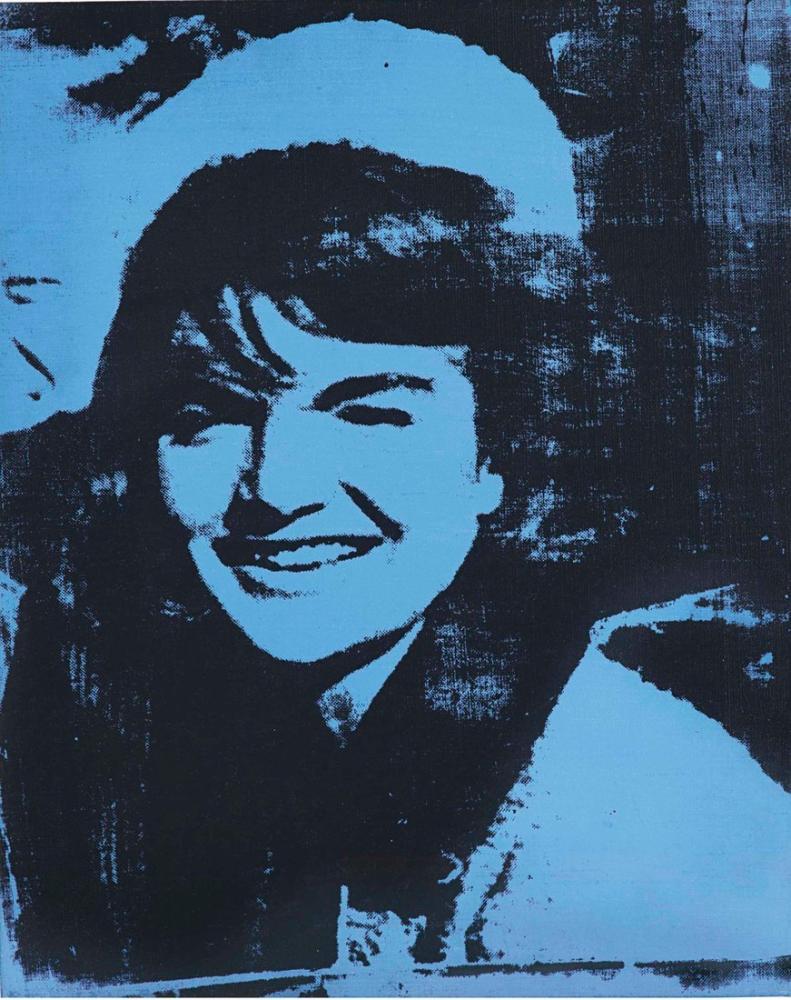Andy Warhol Jackie, Canvas, Andy Warhol