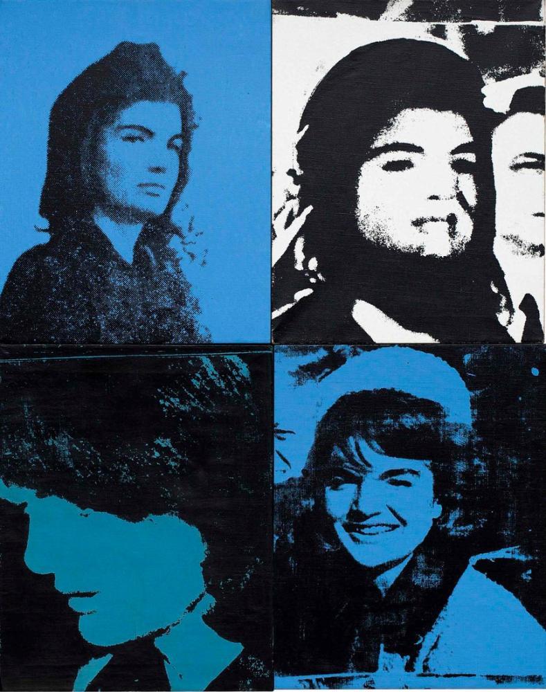 Andy Warhol Jackies, Kanvas Tablo, Andy Warhol
