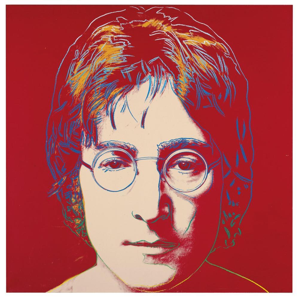 Andy Warhol John Lennon, Canvas, Andy Warhol