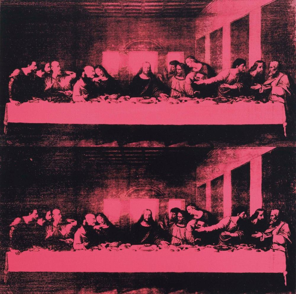 Andy Warhol Last Supper, Canvas, Andy Warhol, kanvas tablo, canvas print sales