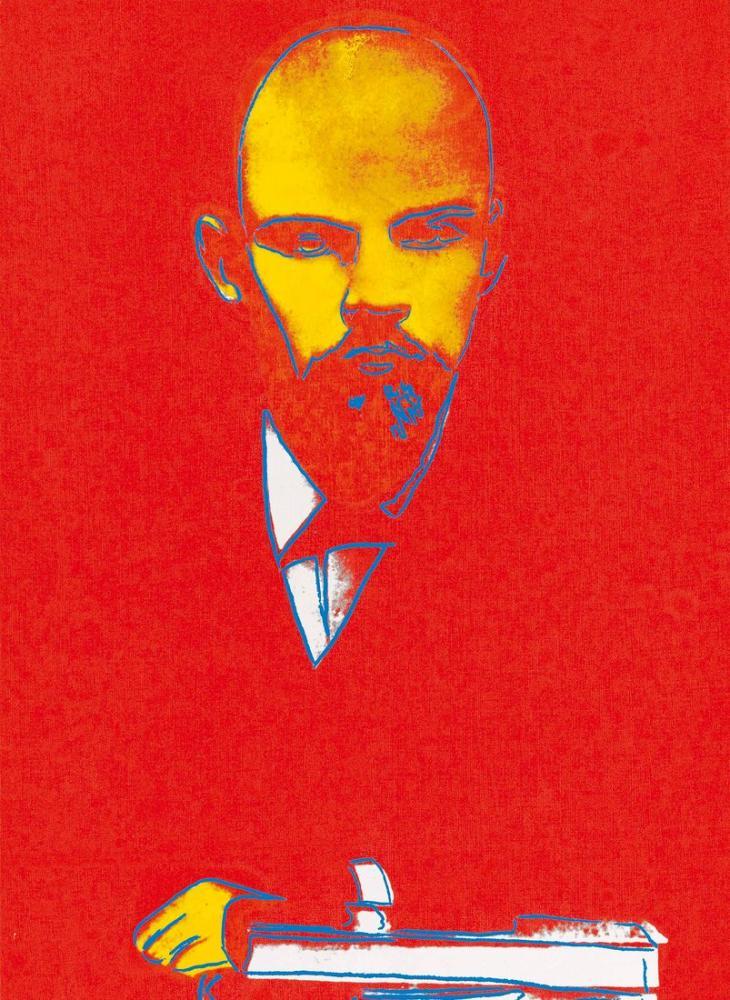 Andy Warhol Lenin, Canvas, Andy Warhol