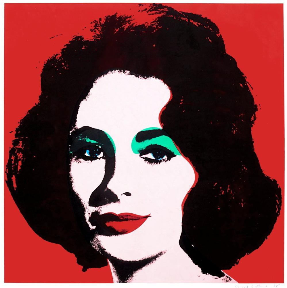 Andy Warhol Liz Wrightauction, Canvas, Andy Warhol