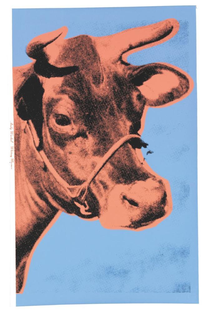 Andy Warhol Cow, Canvas, Andy Warhol