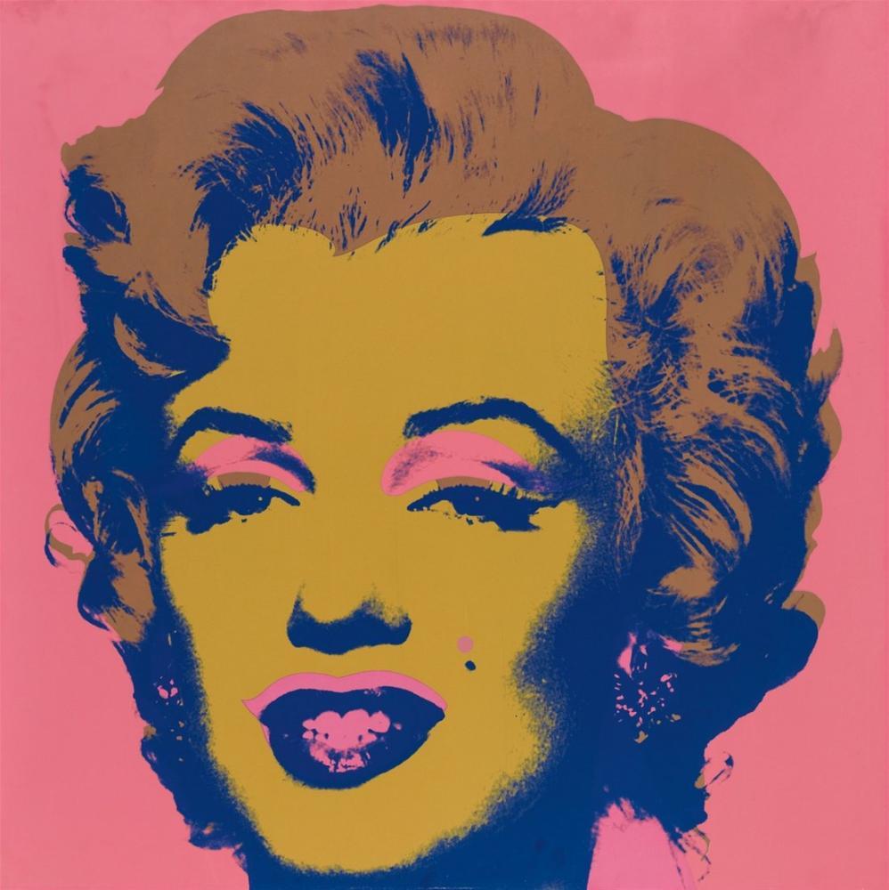Andy Warhol Marilyn Monroe, Kanvas Tablo, Andy Warhol