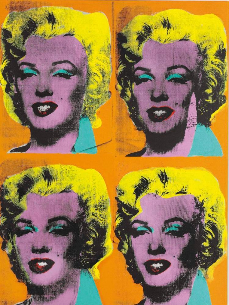 Andy Warhol Marilyns, Kanvas Tablo, Andy Warhol