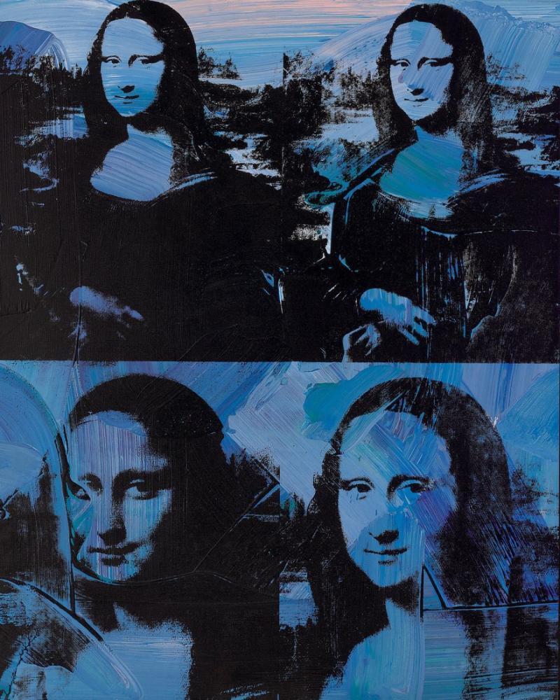Andy Warhol Mona Lisa, Kanvas Tablo, Andy Warhol