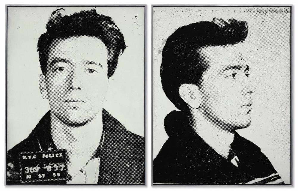 Andy Warhol Most Wanted Menno Jo, Kanvas Tablo, Andy Warhol