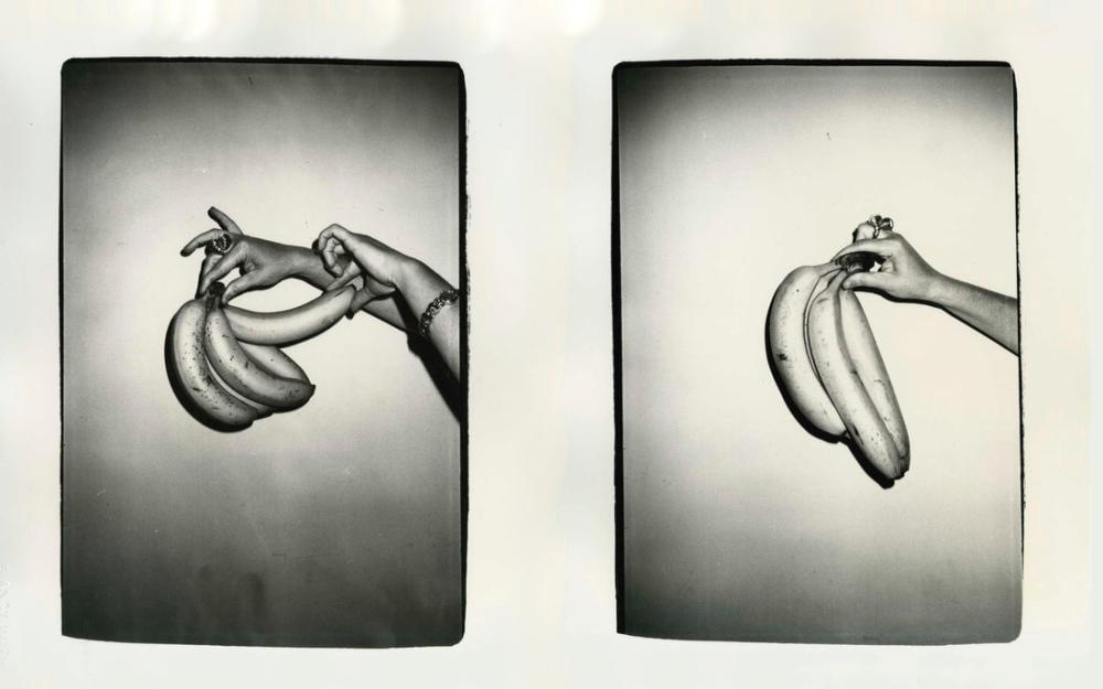 Andy Warhol Pat Hackett İle Muz, Figür, Andy Warhol, kanvas tablo, canvas print sales