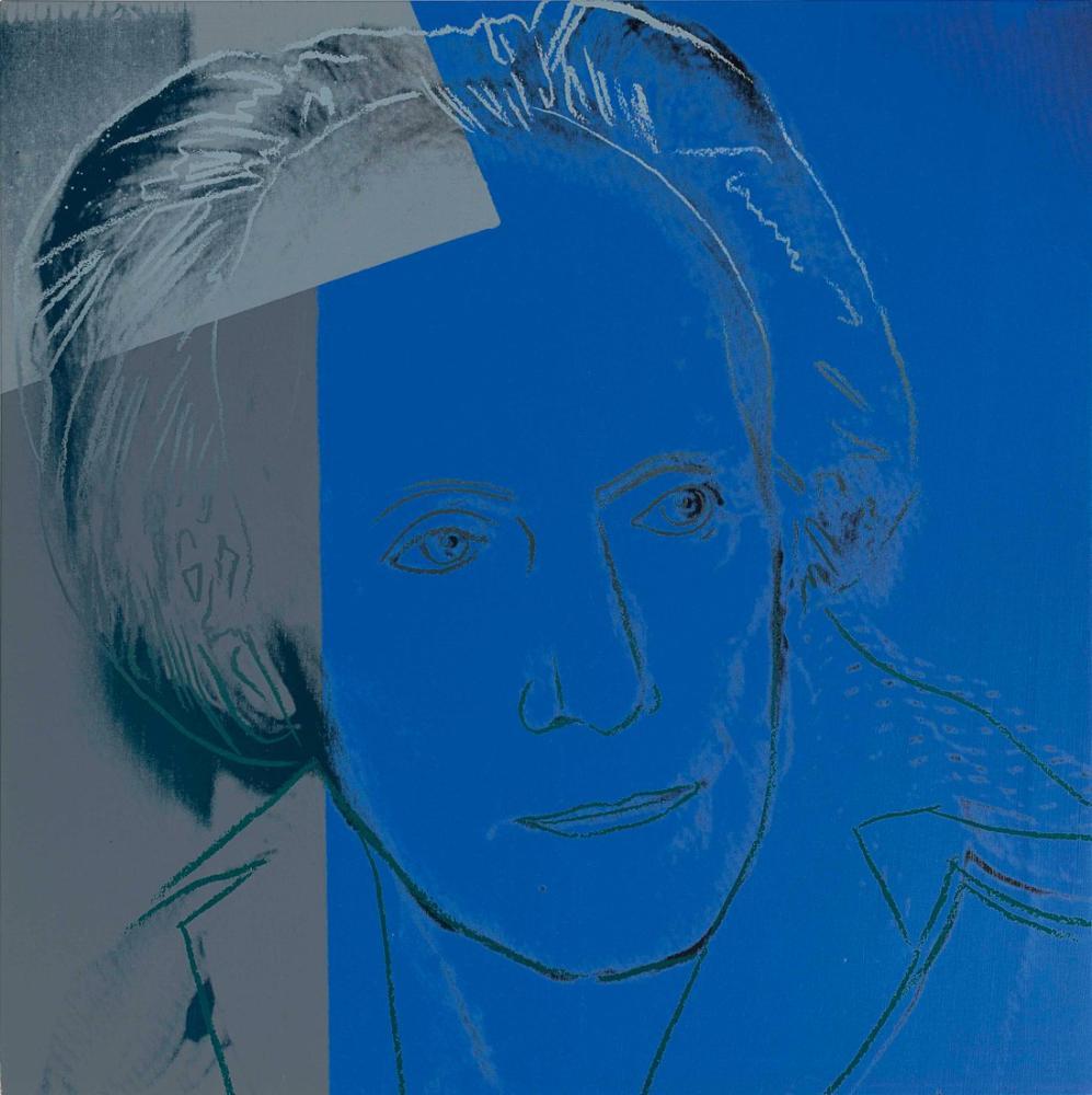 Andy Warhol Paul Delvaux, Kanvas Tablo, Andy Warhol