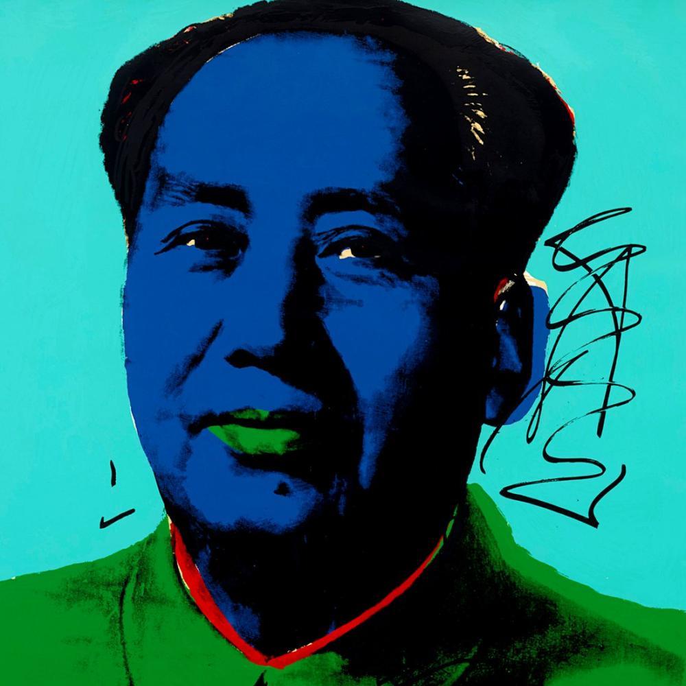 Andy Warhol Mao Auction, Canvas, Andy Warhol