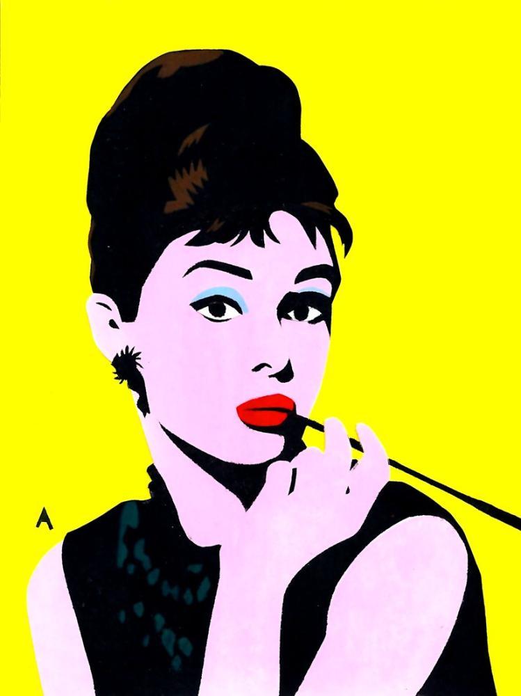 Andy Warhol Audrey Hepburn, Kanvas Tablo, Andy Warhol