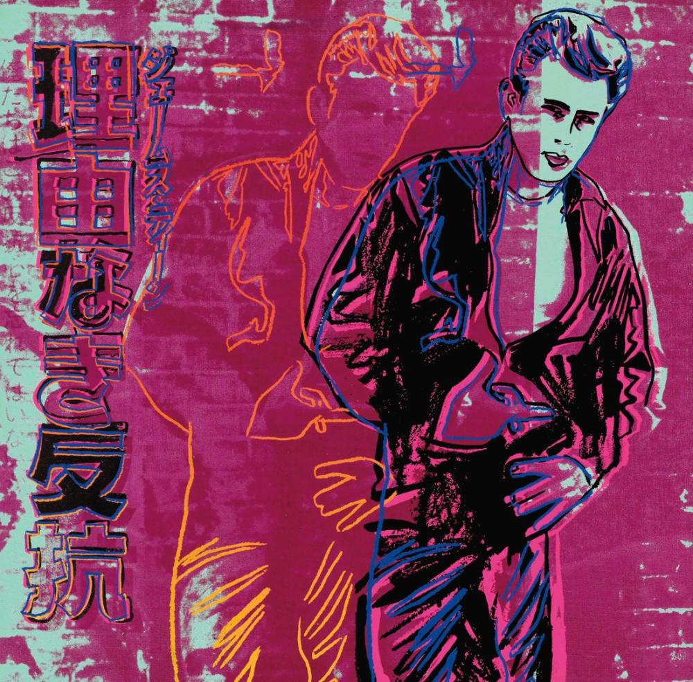 Andy Warhol Rebel Without A Cause, Canvas, Andy Warhol, kanvas tablo, canvas print sales