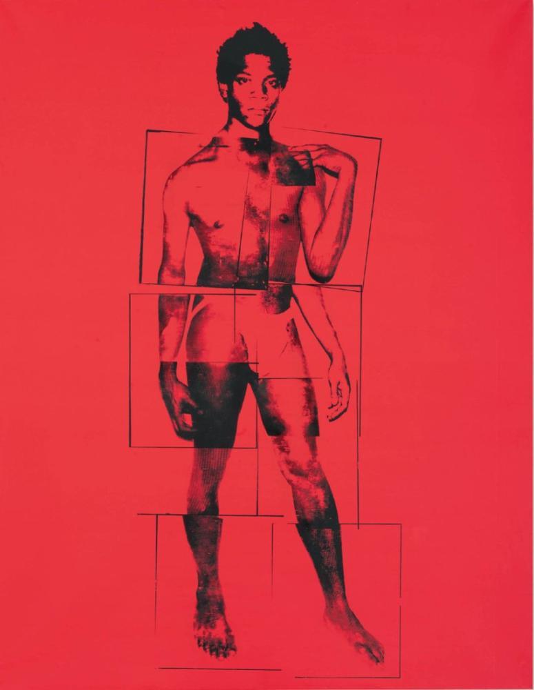 Andy Warhol Reel Basquiat, Canvas, Andy Warhol