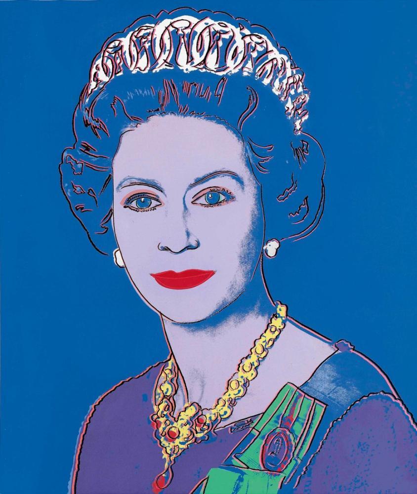 Andy Warhol Kraliyet Kraliçesi, Kanvas Tablo, Andy Warhol