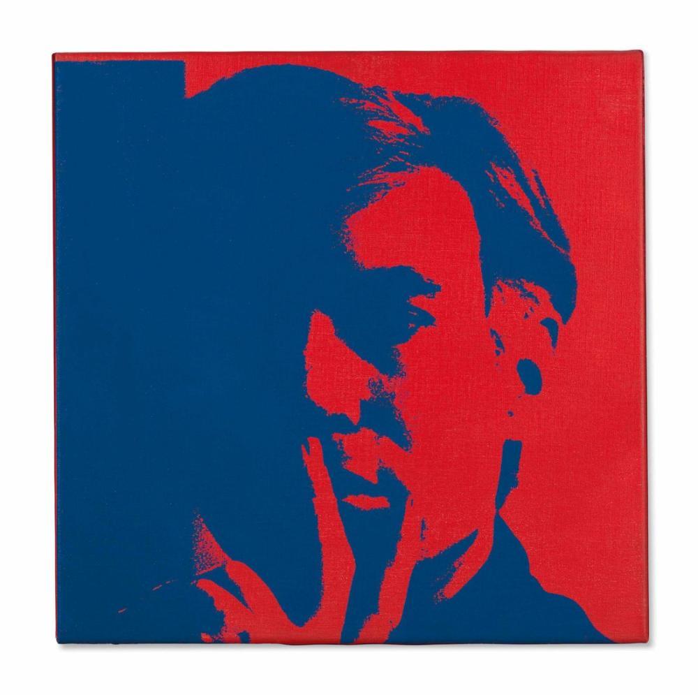 Andy Warhol Self Portrait, Canvas, Andy Warhol