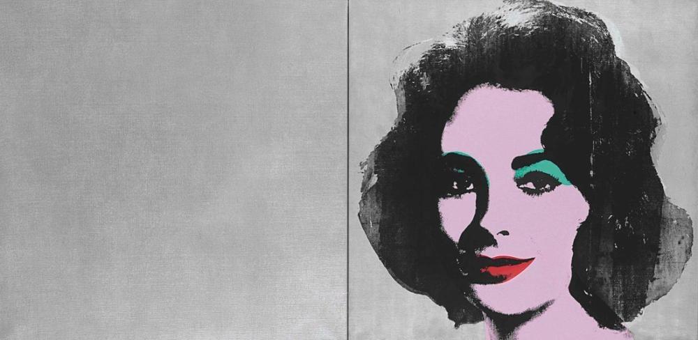 Andy Warhol Silver Liz, Canvas, Andy Warhol