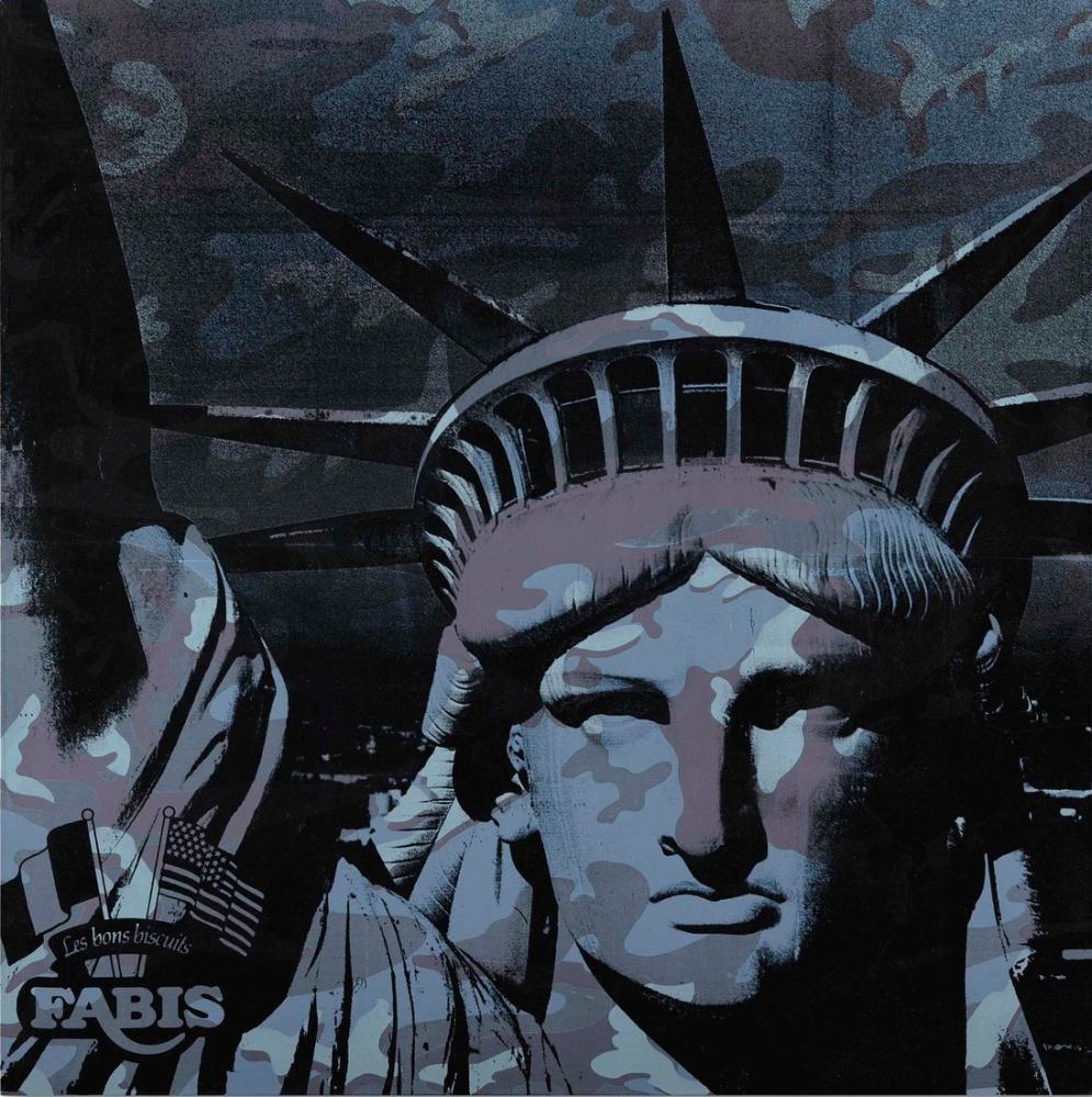 Andy Warhol Statue Of Liberty, Canvas, Andy Warhol