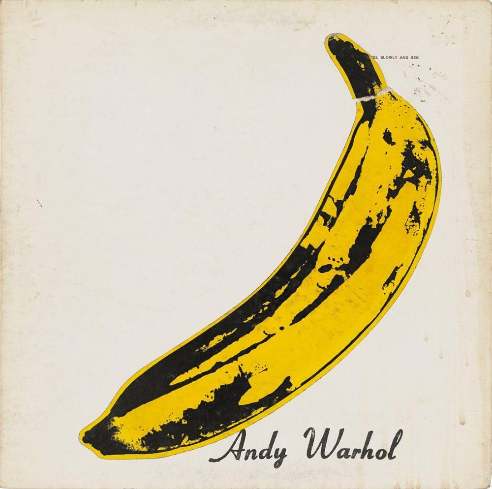 Andy Warhol Banana, Canvas, Andy Warhol