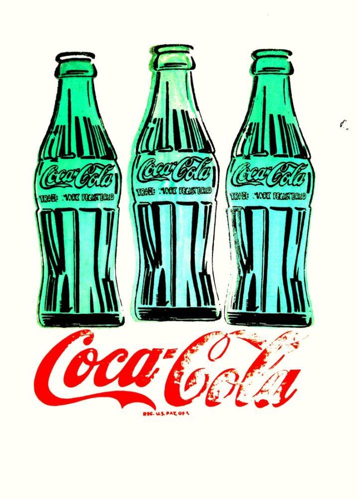 Andy Warhol Üç Coca Cola, Figür, Andy Warhol