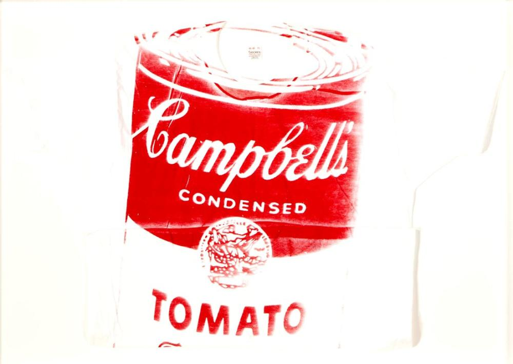 Andy Warhol Tomato Soup Can, Canvas, Andy Warhol