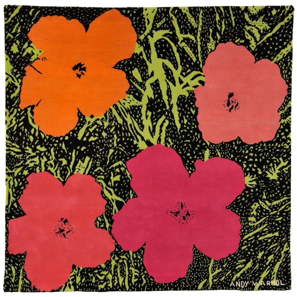Andy Warhol Flowers 9, Canvas, Andy Warhol