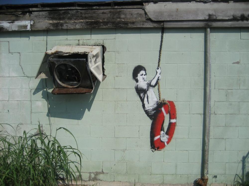 Banksy, Swingerl, Canvas, Banksy, kanvas tablo, canvas print sales