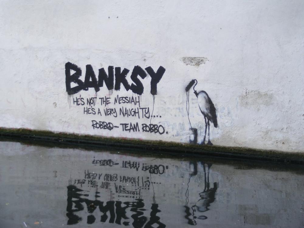 Banksy, Küresel Isınma, Kanvas Tablo, Banksy