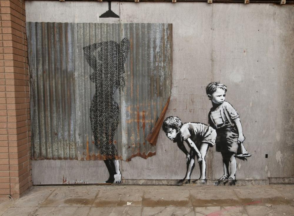 Dismaland, Banksy, Kanvas Tablo, Banksy, kanvas tablo, canvas print sales