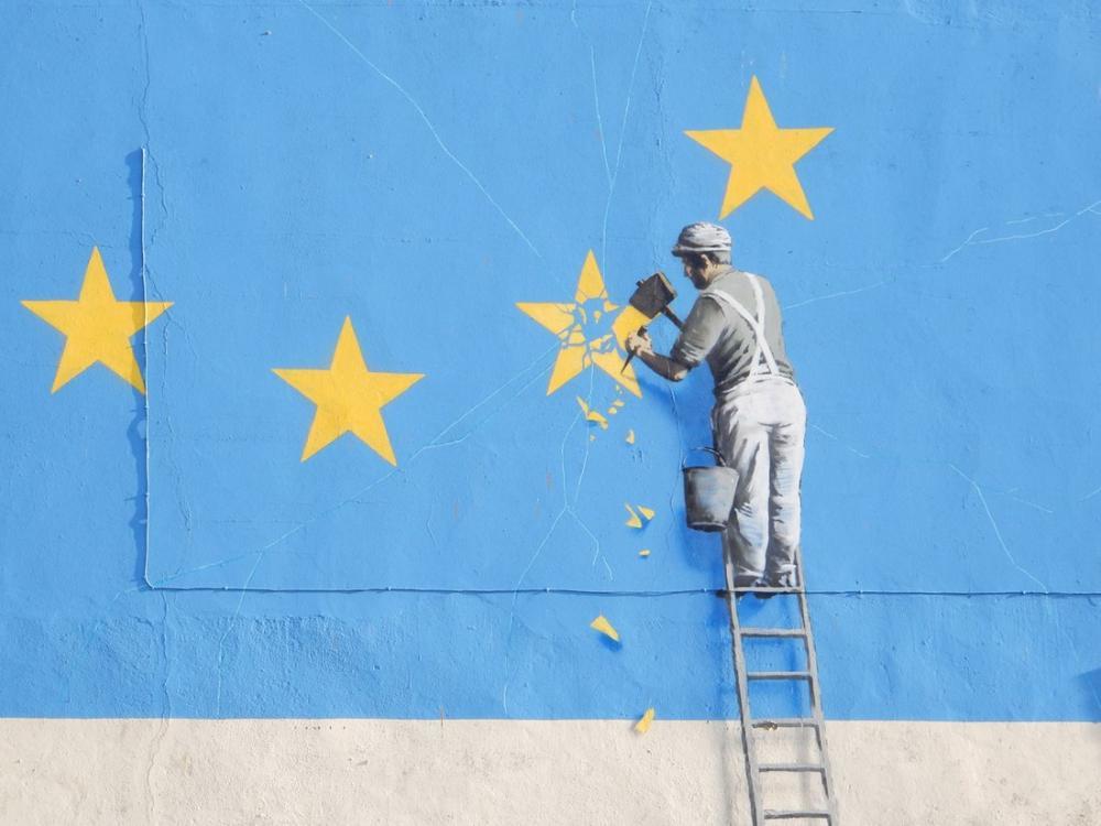 Brexit, Banksy, Canvas, Banksy, kanvas tablo, canvas print sales