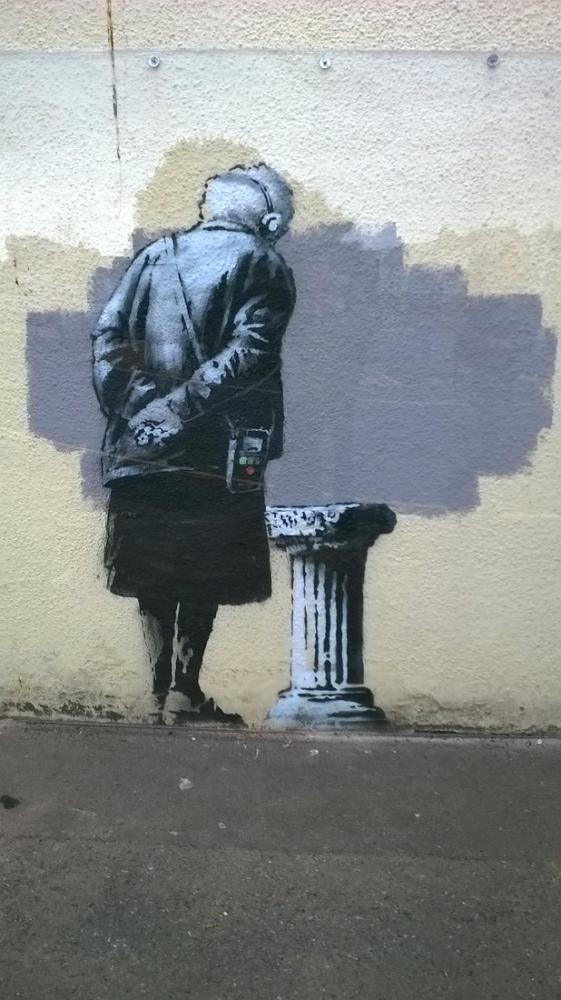 Folkestone, Banksy, Kanvas Tablo, Banksy