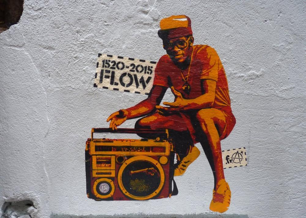 Lizbon'da, Kanvas Tablo, Banksy