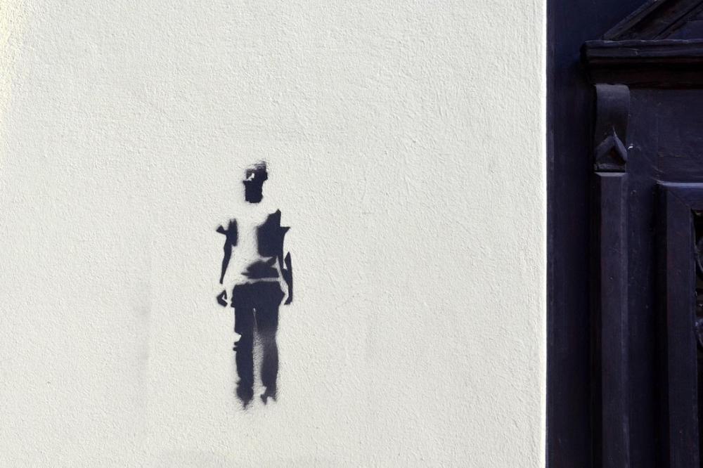 Banksy, In Sanok, Kanvas Tablo, Banksy