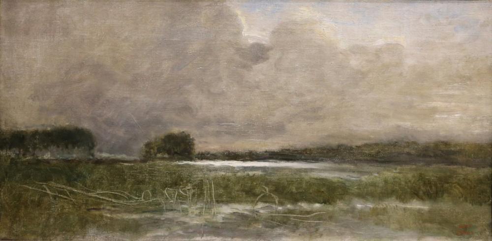 Camille Corot Arleux Bataklığı, Kanvas Tablo, Camille Corot