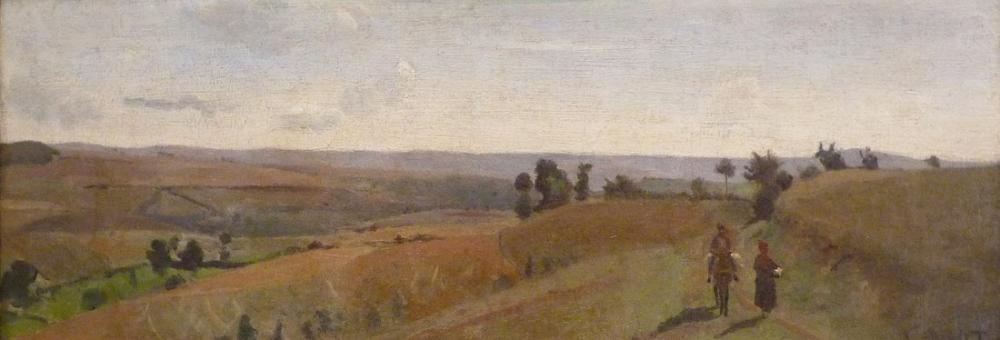 Camille Corot Morvan Manzara, Kanvas Tablo, Camille Corot