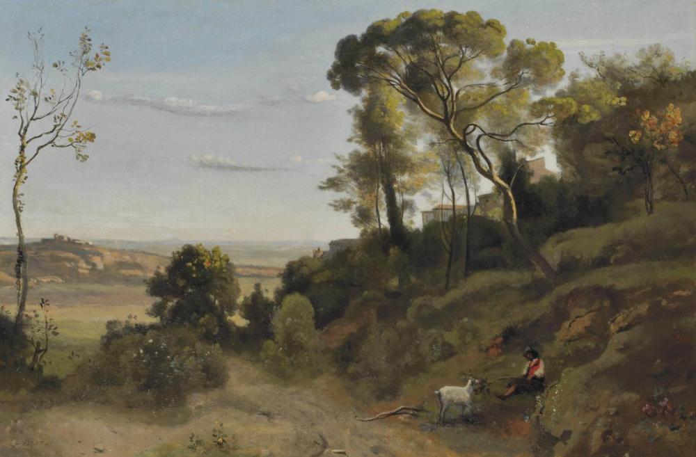 Camille Corot Napoli Kampanyası, Kanvas Tablo, Camille Corot, kanvas tablo, canvas print sales