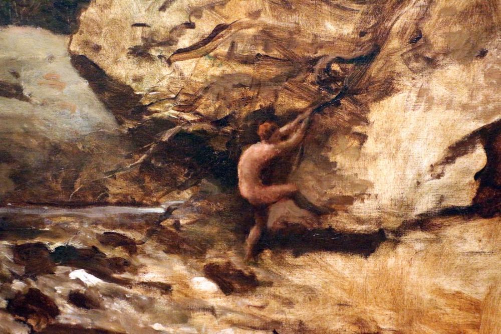 Camille Corot Don Kişot, Kanvas Tablo, Camille Corot