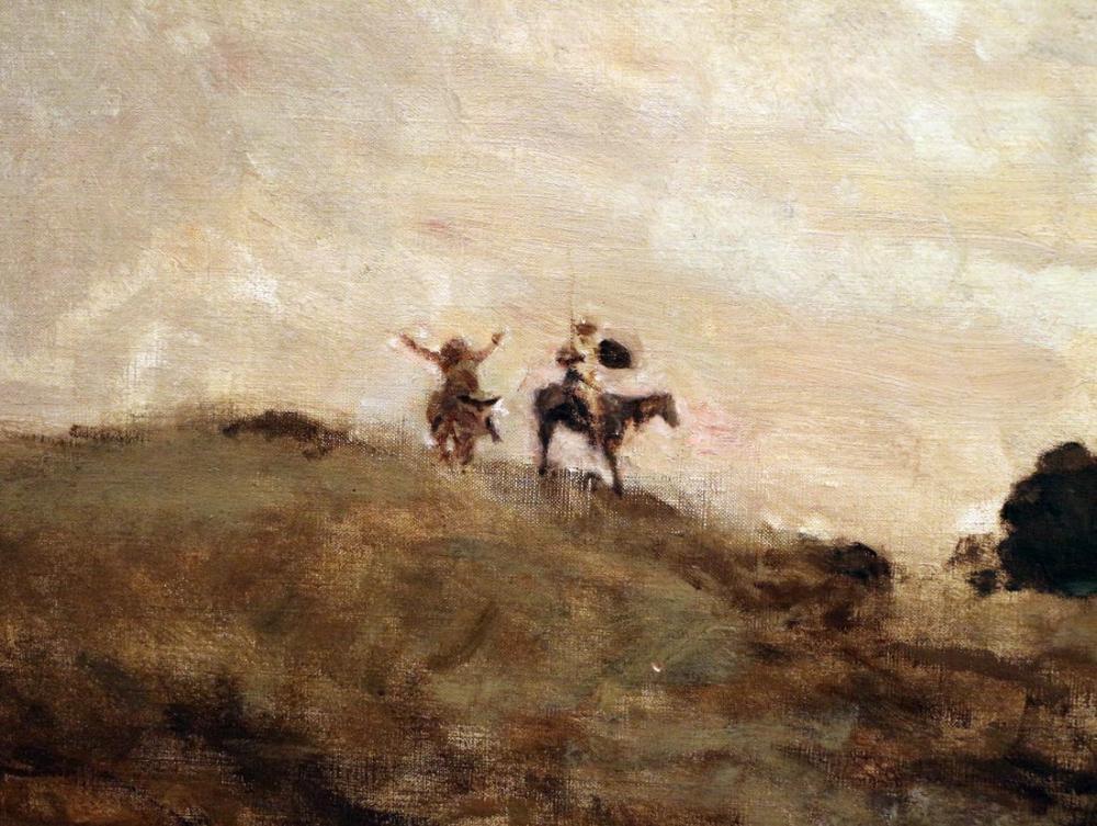 Camille Corot Don Kişot II, Kanvas Tablo, Camille Corot