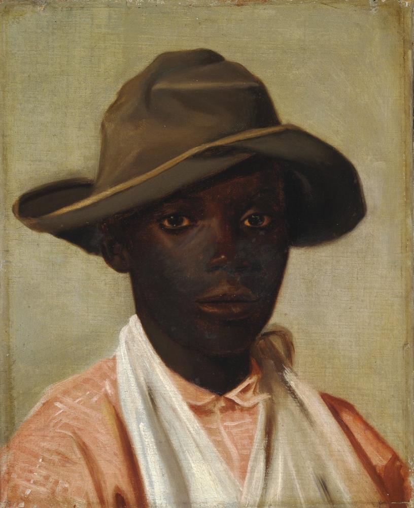 Camille Pissarro Bir Çocuk Portresi, Kanvas Tablo, Camille Pissarro, kanvas tablo, canvas print sales