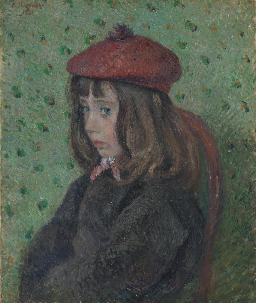 Camille Pissarro Felix Portresi, Kanvas Tablo, Camille Pissarro