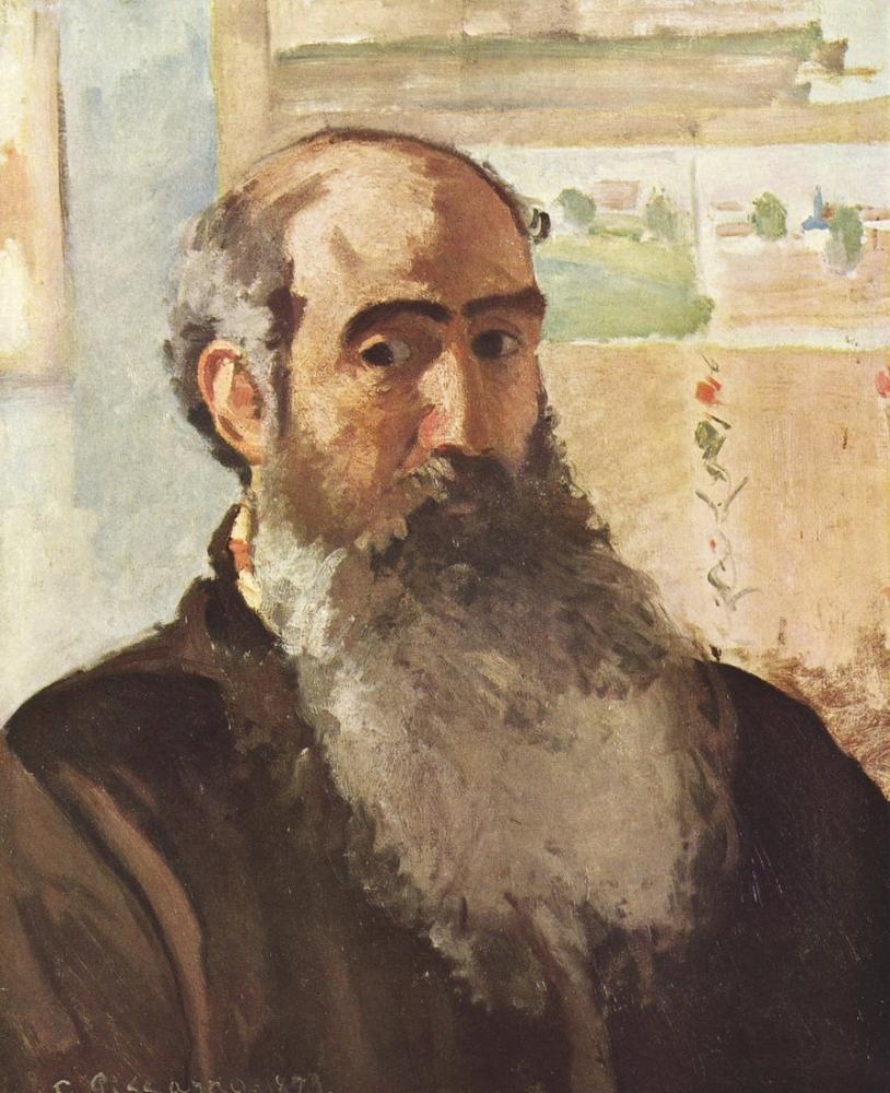 Camille Pissarro Otoportre, Kanvas Tablo, Camille Pissarro
