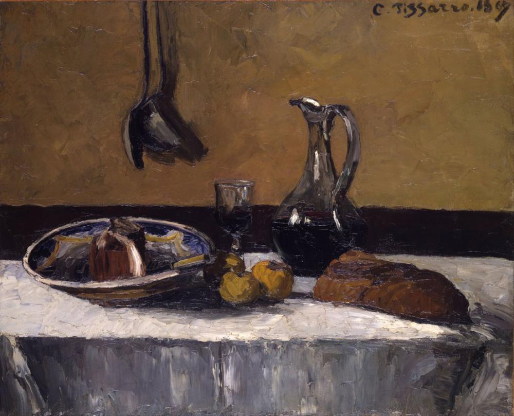 Camille Pissarro Natürmort, Kanvas Tablo, Camille Pissarro, kanvas tablo, canvas print sales
