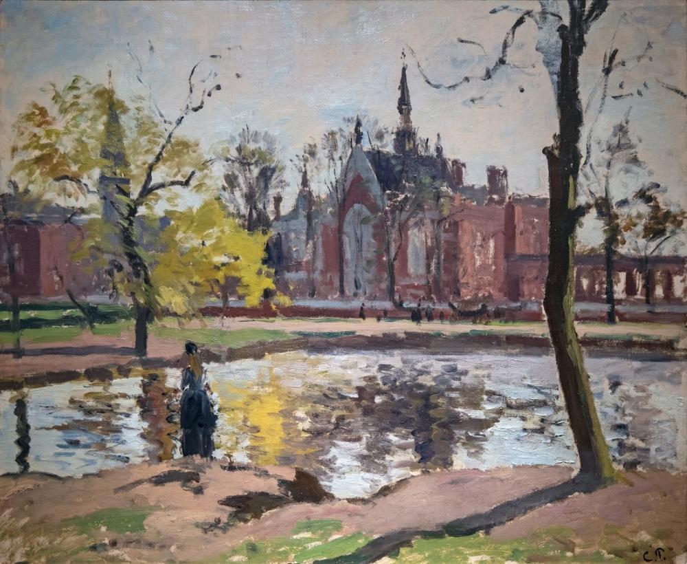 Camille Pissarro Dulwich Koleji, Kanvas Tablo, Camille Pissarro
