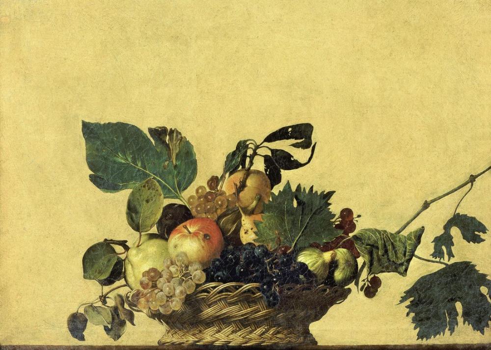 Caravaggio Basket Of Fruit, Canvas, Caravaggio