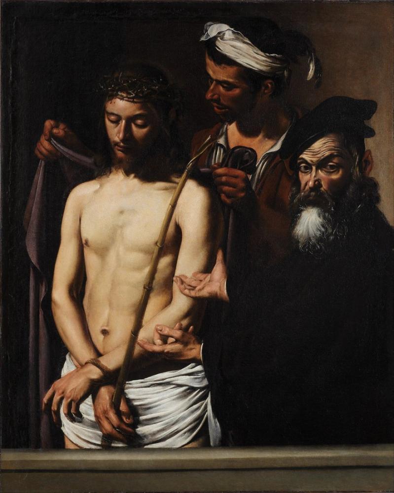 Caravaggio Adam İşte, Kanvas Tablo, Caravaggio
